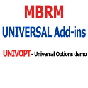 MBRM Universal Options demo logo