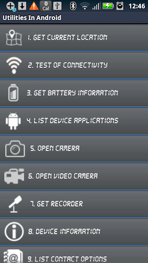 Utilities Of Android