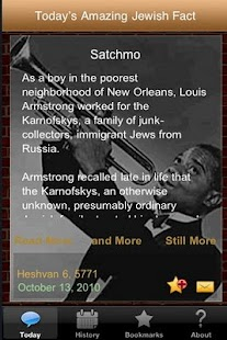 Amazing Jewish Facts Calendar - screenshot thumbnail