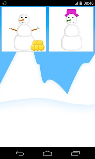 打造 雪人 遊戲