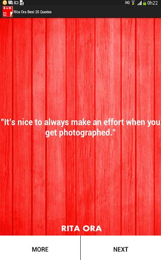 玩生活App|Rita Ora Best 20 Quotes免費|APP試玩