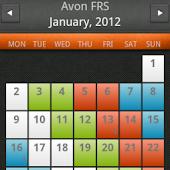 Paramedic Rota Calendar