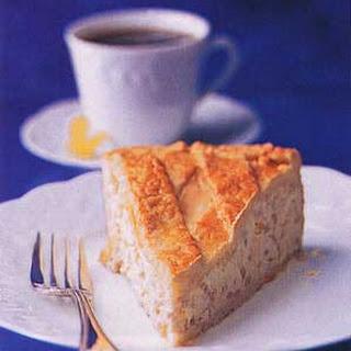 Neapolitan Ricotta and Wheatberry Pie