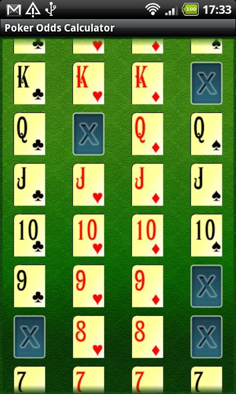 Poker machine math