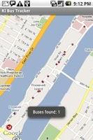 Screenshot of Roosevelt Island Bus Tracker