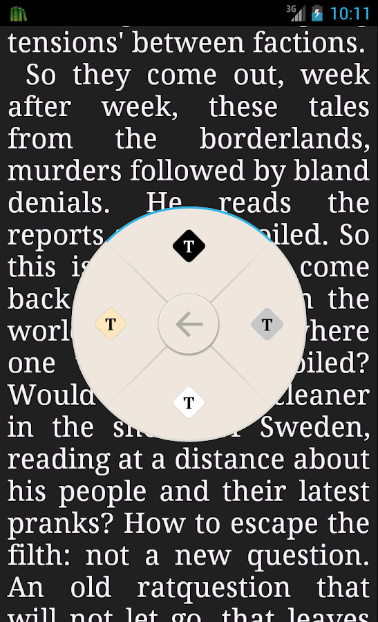 PocketBook Reader - screenshot