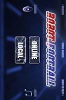 Screenshot of Robot Football