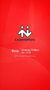 Bria Android Edition for CCS - screenshot thumbnail