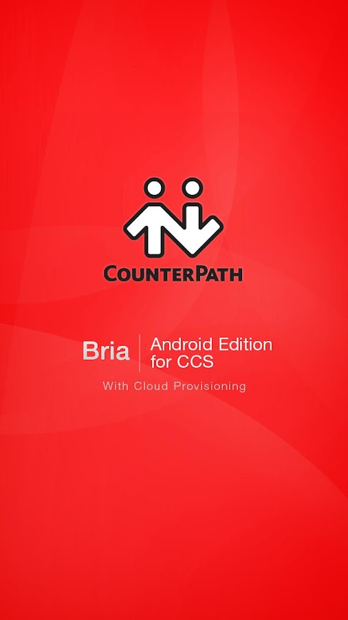 Bria Android Edition for CCS - screenshot
