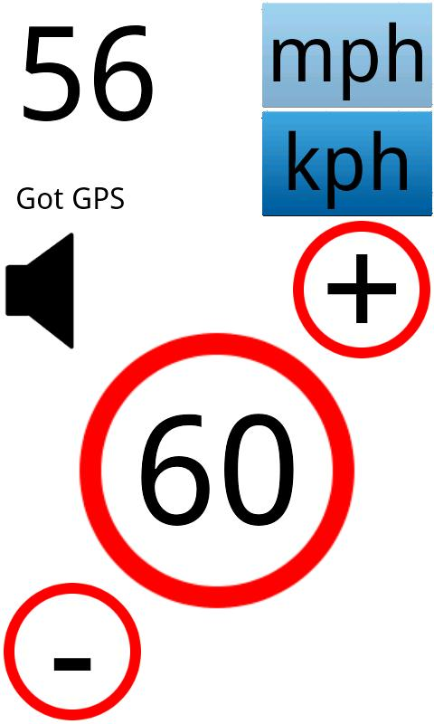Speed Warning - screenshot