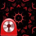 GO Locker Theme Red Black icon
