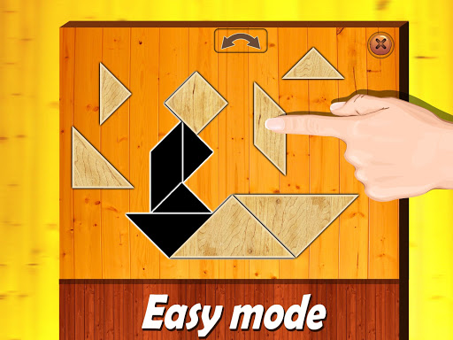 Wooden shape puzzle for kids