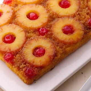 Easy Pineapple Upside-Down Cake.