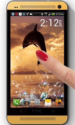 Dolphin Jumps live wallpaper