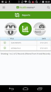 Healthmemo - eHealth Records - screenshot thumbnail