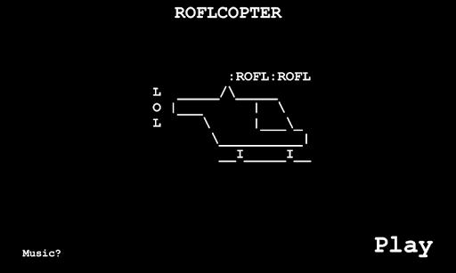 Roflcopter: Helikopter Oyunu