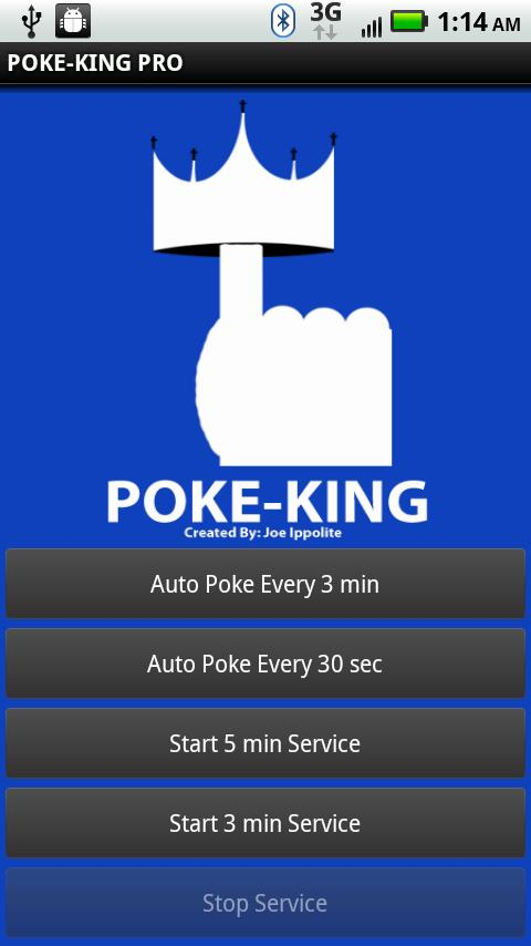 Poke-King Pro for Facebook- screenshot