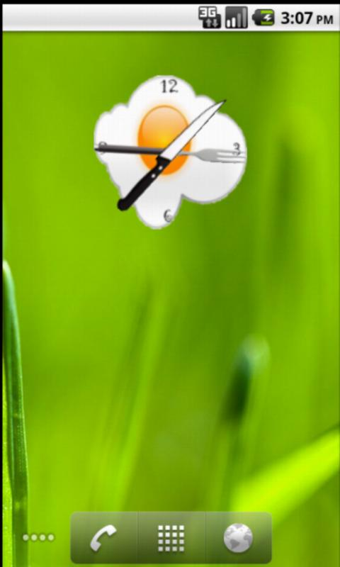 Egg Clock Widget - screenshot