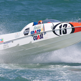Air Time by Scott Helfrich - Sports & Fitness Watersports ( p1 raceboat boat racing boatracing wild beach water surf scotthelfrichphotrography scotthelfrich watersports florida )