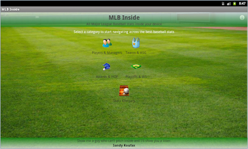 MLB Inside Demo