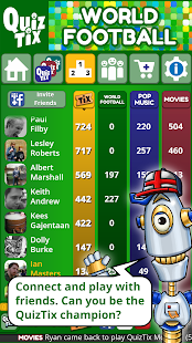 QuizTix: World Football Quiz & Soccer Trivia Game- screenshot thumbnail