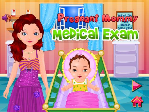 懷孕的媽咪寶貝遊戲