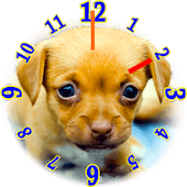 Puppies Clock