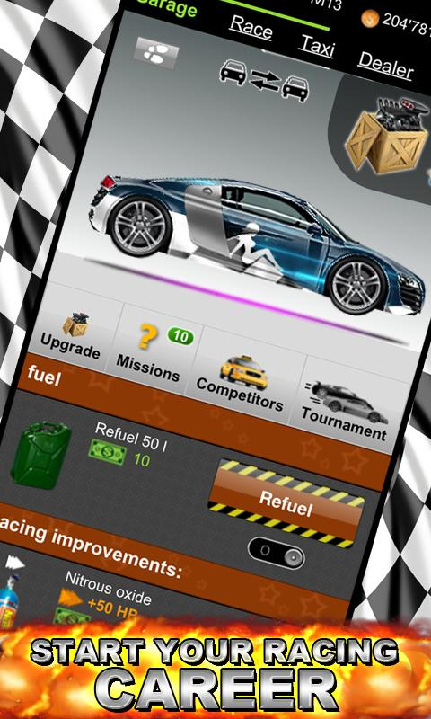 Online Racer - FREE RACING- screenshot