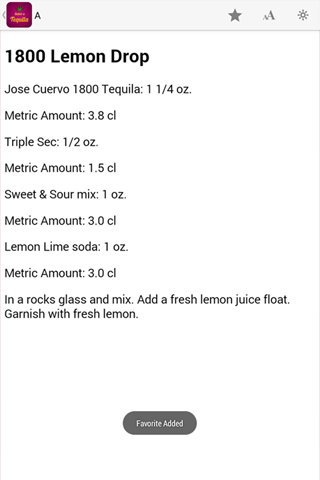 Sabor A Tequila - screenshot
