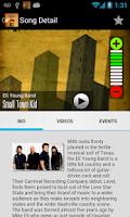 Screenshot of 105.3 Rebel