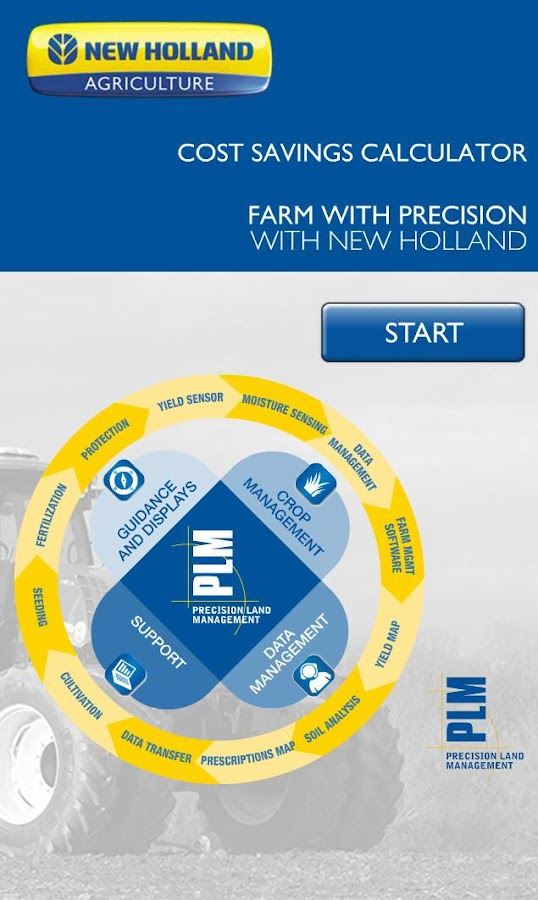 New Holland PLM Calculator - screenshot