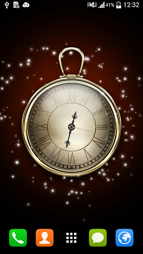 Clock HD Live Wallpaper