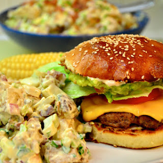 Awesome Beef and Pork Burgers