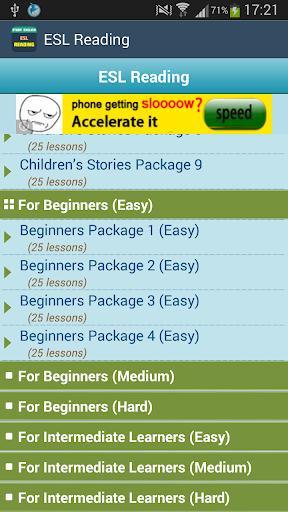 Learn ESL Reading FREE