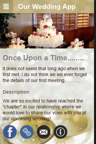 Our Wedding App