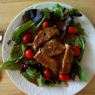 Seared Tuna with Fresh Wasabi Sauce