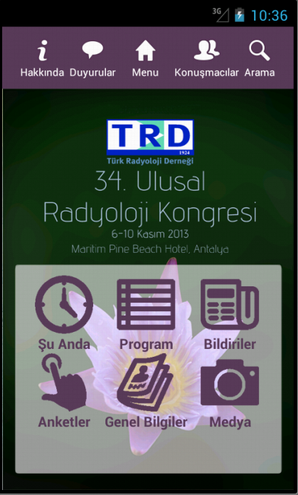 TURKRAD 2013- screenshot