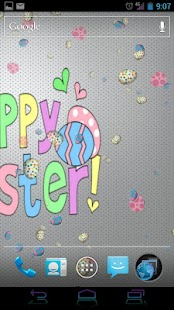 Happy Easter Live Wallpaper - screenshot thumbnail