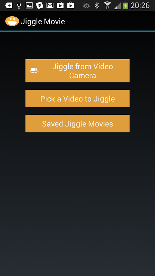 Jiggle Movie, Fun Video Editor- screenshot