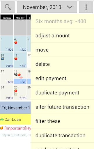 玩免費財經APP|下載Budget Calendar app不用錢|硬是要APP