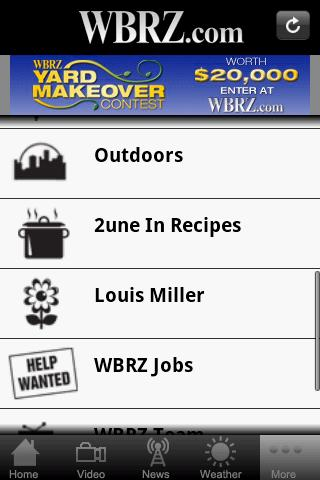 WBRZ - screenshot