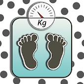 Weight History (Diet Calendar)