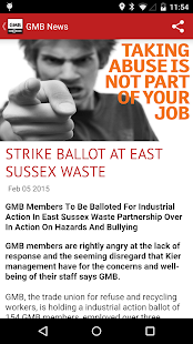 GMB Trade Union- screenshot thumbnail