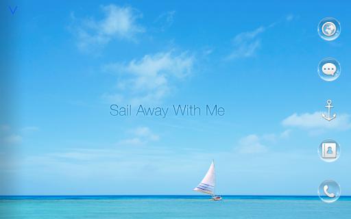 Sail Away Atom theme