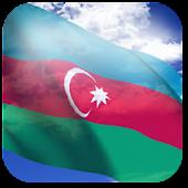 3D Azerbaijan Flag