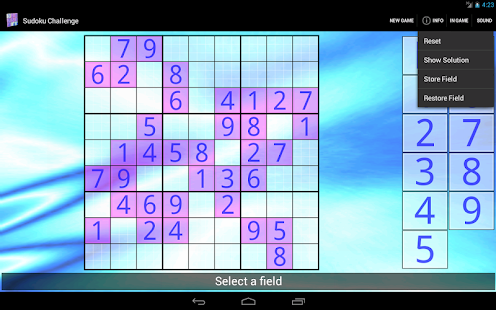 Sudoku Challenge HD - screenshot thumbnail