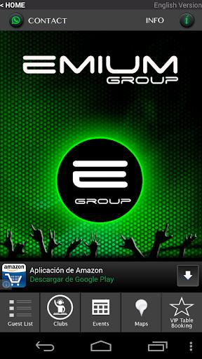 Emium - Barcelona Night Clubs