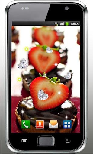 Chocolate Strawberry HD LWP