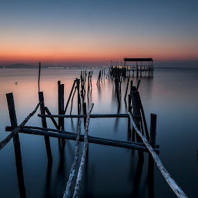 over peaceful water... by Paulo Penicheiro - Landscapes Sunsets & Sunrises