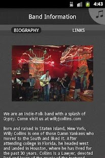 The Willy Collins Band - screenshot thumbnail